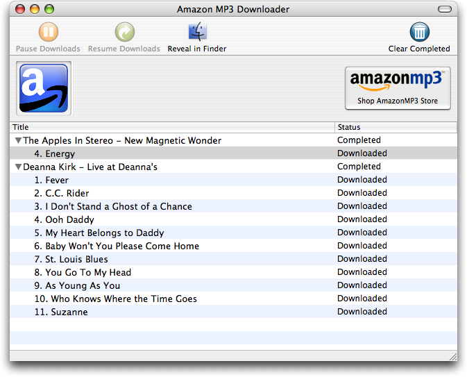 amazon mp3 takes on the itunes store tidbits