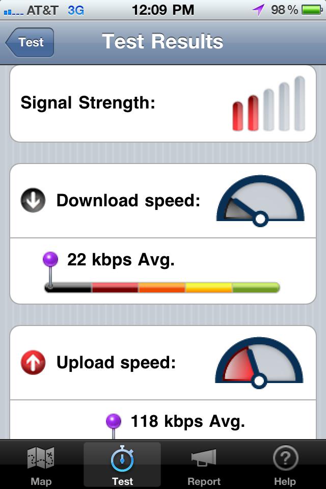 advies downloadsnelheid mobiel