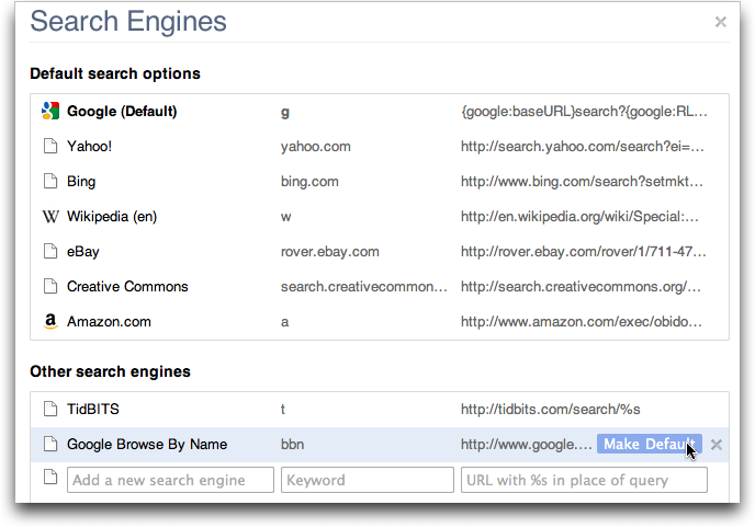 Surf Faster In Google Chrome And Safari 5 With Browse By