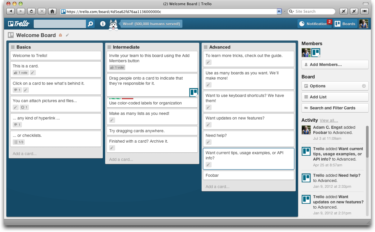 Trello Offers Compelling Collaboration Tool Tidbits