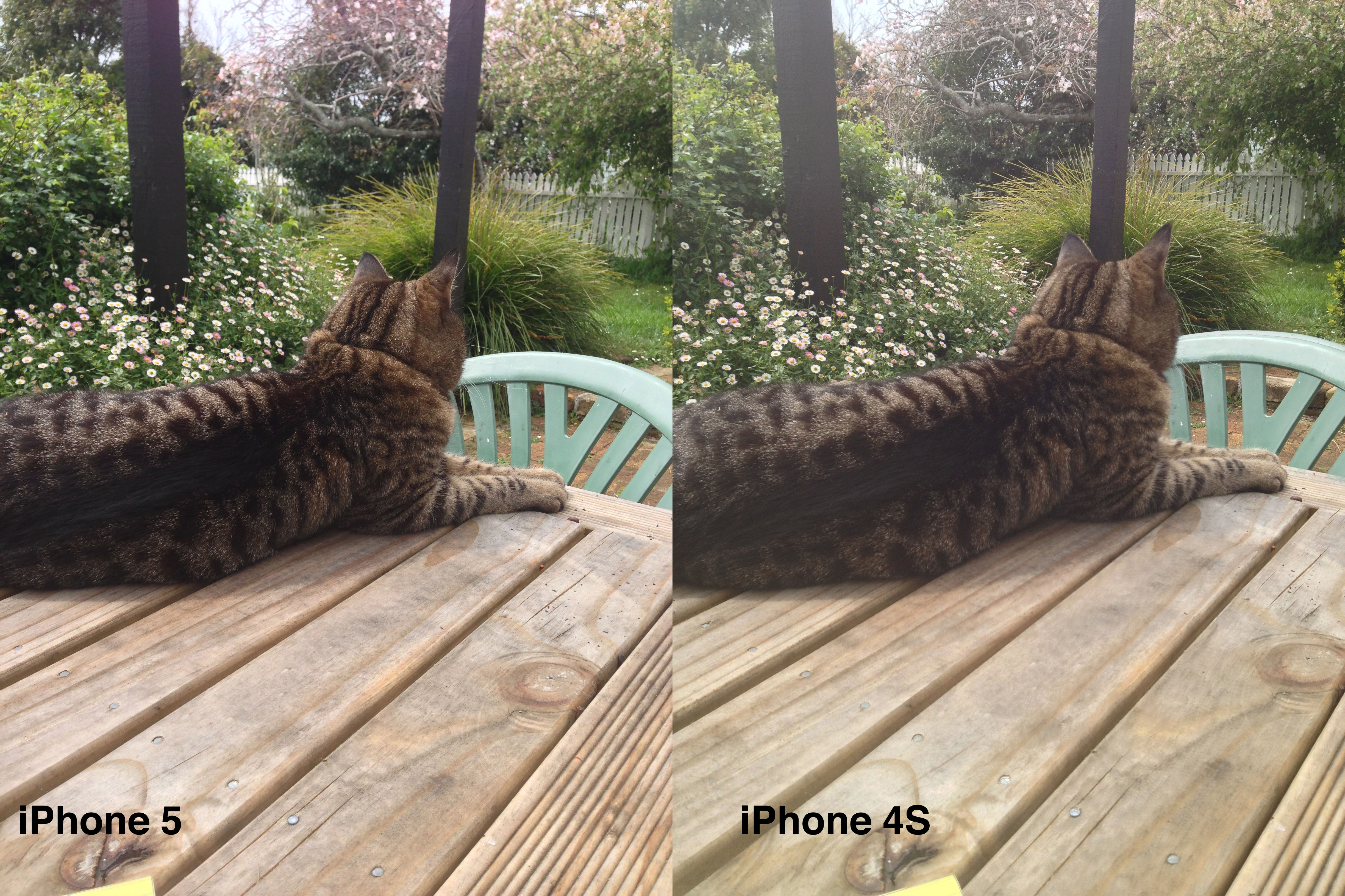 Camera Iphone 4s vs 5s The Iphone 4s's Camera