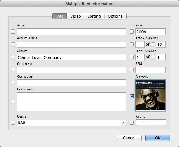 Figure 19: Select the album, choose File ></span><span id=