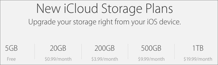 how to change icloud storage plan on iphone