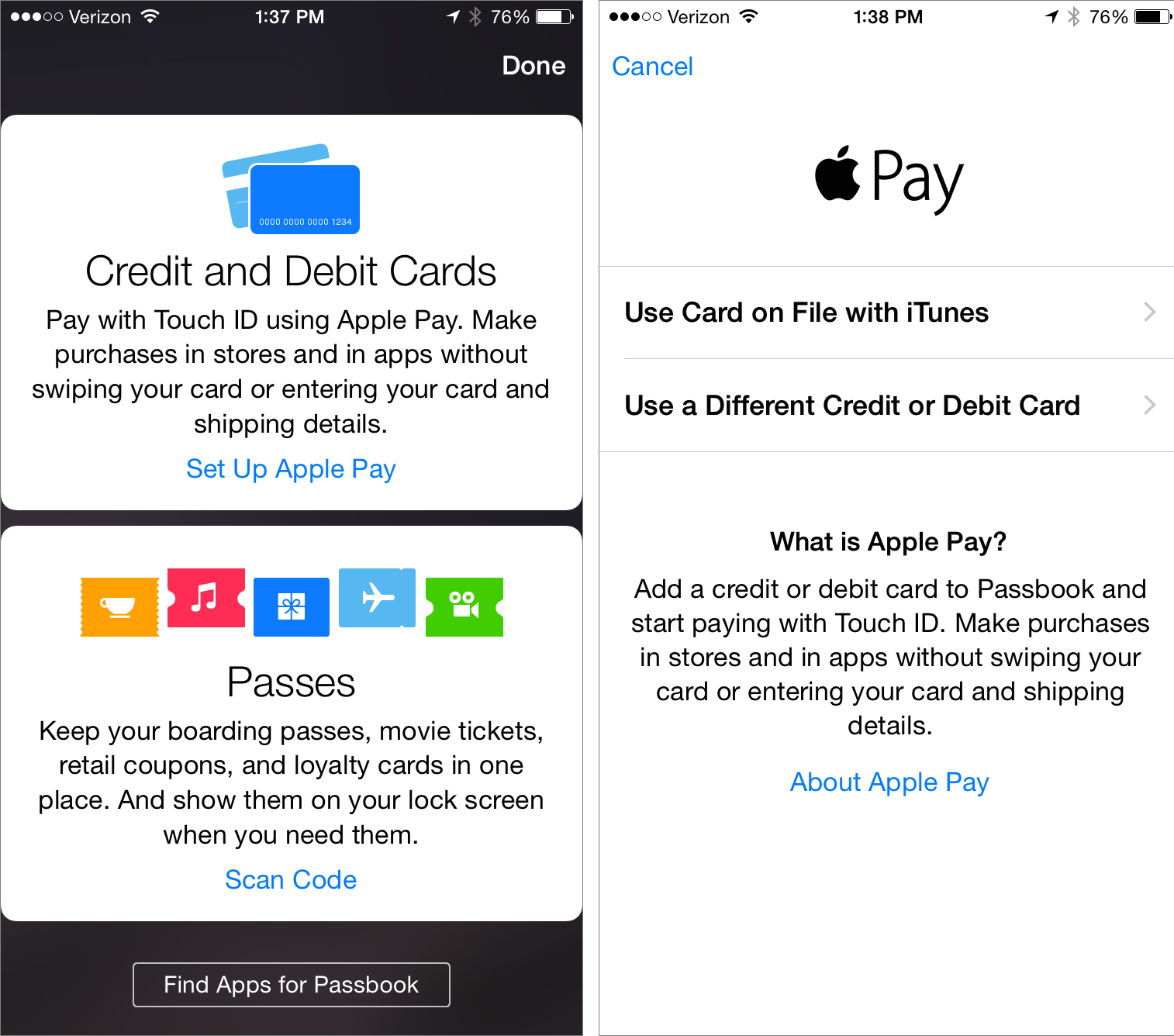 How To Use Apple Pay TidBITS - Us zip code for apple id