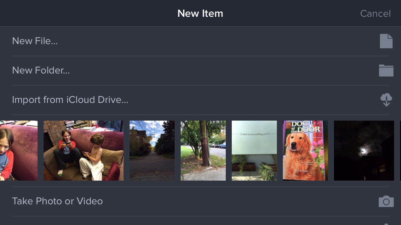 how to move photos and videos to icloud drive