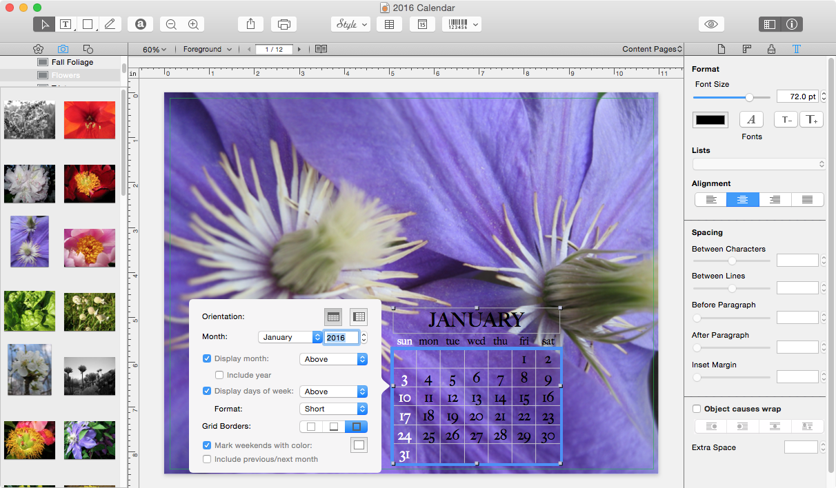 Dealbits drawing win a copy of swift publisher 4 tidbits for Iphoto calendar templates