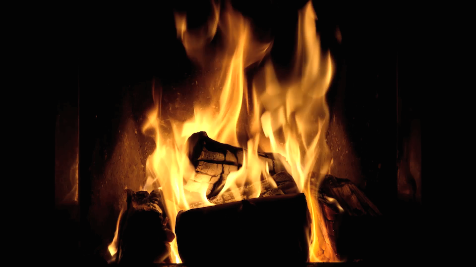 Fireplace Design fireplace screensaver : Apps that Reveal the Apple TV's Potential - TidBITS