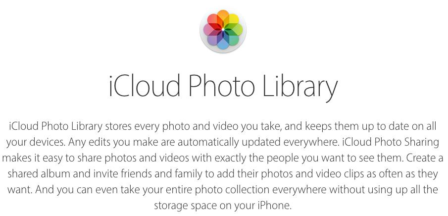 4 Things to Consider Before Enabling iCloud Photo Library – VMUG Website