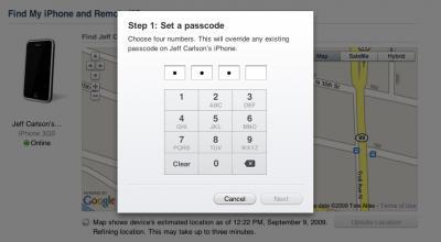 mobileme-passcode