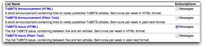 TidBITS-list-formats