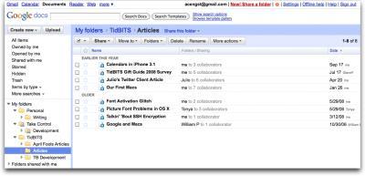 Google-Docs-shared-folders