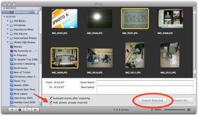 iPhoto-import