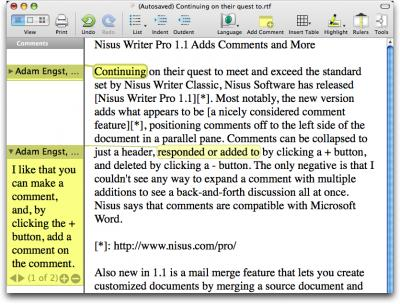 Nisus-Writer-Pro-comments