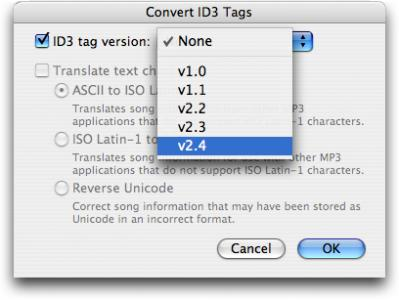 iTunes-Convert-ID3-Tags