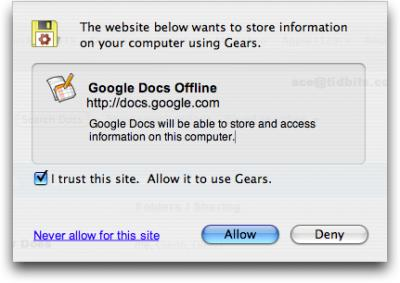 Gears-store-data-dialog