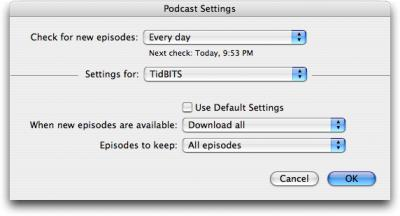 iTunes-podcast-settings