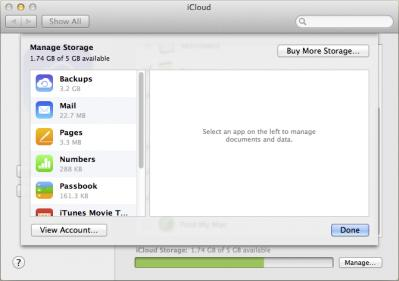 how to create more icloud storage
