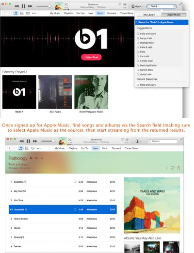 Access your music collection on all of your devices with Apple Music