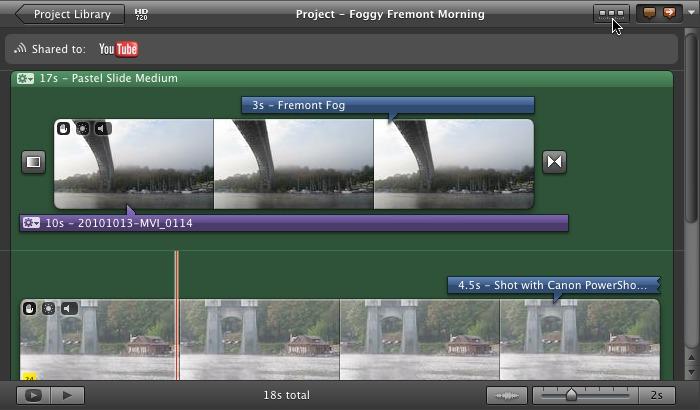 Regain the Timeline in iMovie '11 - TidBITS