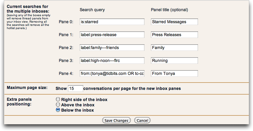 Zen and the Art of Gmail, Part 3: Gmail Labs - TidBITS