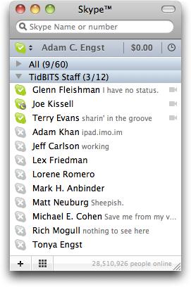 Skype 5 for Mac: A Huge Step Backward - TidBITS