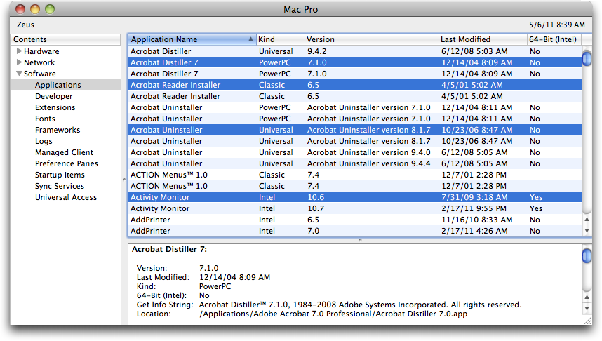 Preparing for Lion: Find Your PowerPC Applications - TidBITS