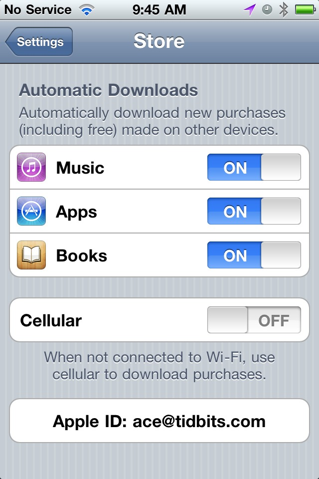 iTunes 10 3 Offers Automatic Downloads and Access to