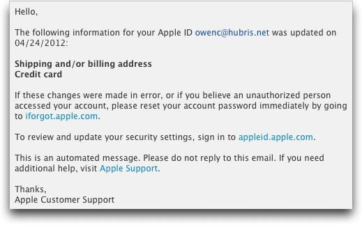 Apple ID Horror Story - TidBITS