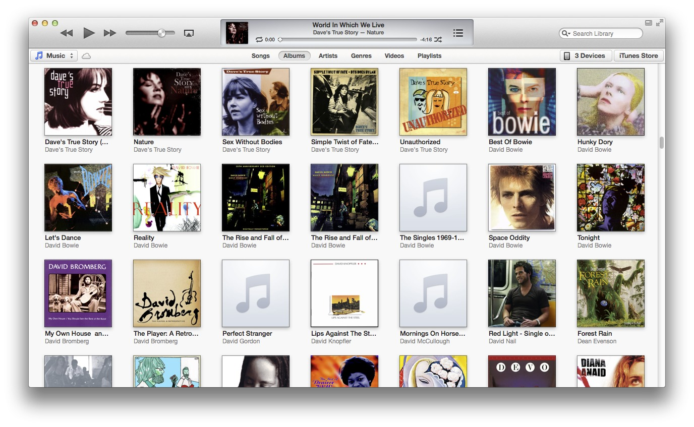 Redesigned iTunes 11 Brings iCloud Streaming and New MiniPlayer