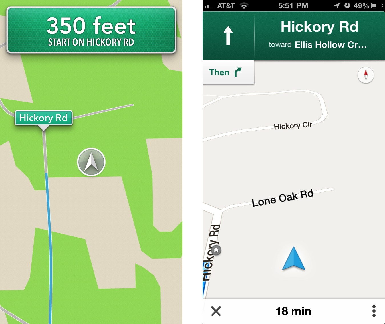 Comparing Apple's Maps and Google Maps - TidBITS on