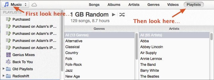 iTunes 11 Interface Innovations: Good and Bad, but Not Ugly