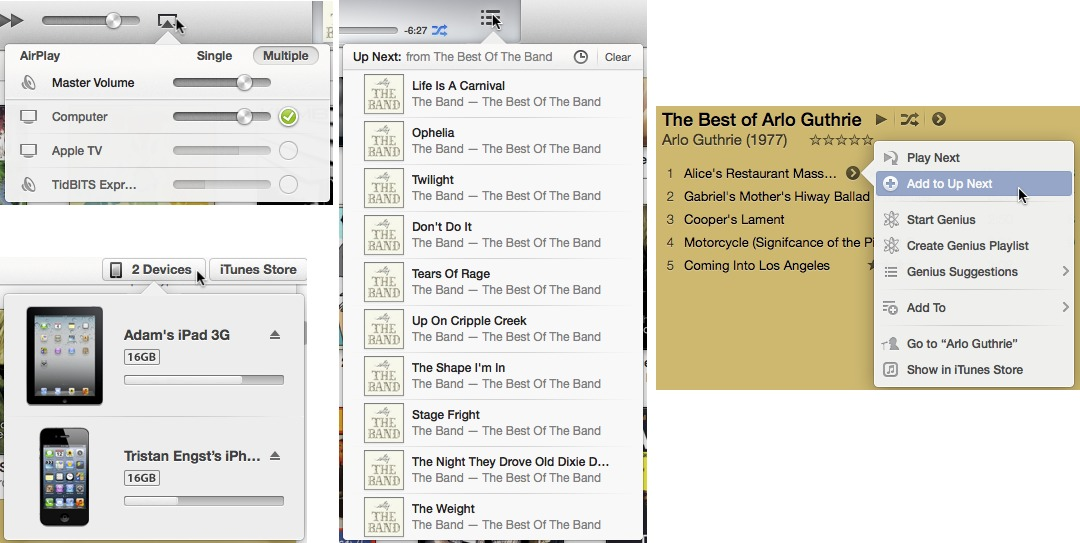 iTunes 11 Interface Innovations: Good and Bad, but Not Ugly - TidBITS