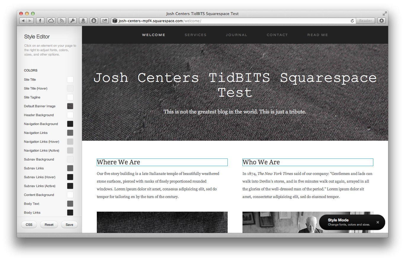 Squarespace 6 Web Hosting: Ease of Use and Design Outweigh Flaws ...