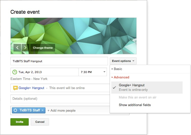 How to Set Up and Use Google+ Hangouts - TidBITS