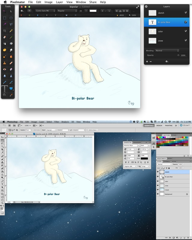 Can You Replace Photoshop with Pixelmator? - TidBITS