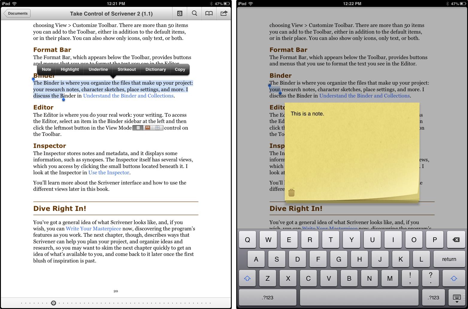 Comparing GoodReader and Documents by Readdle - TidBITS