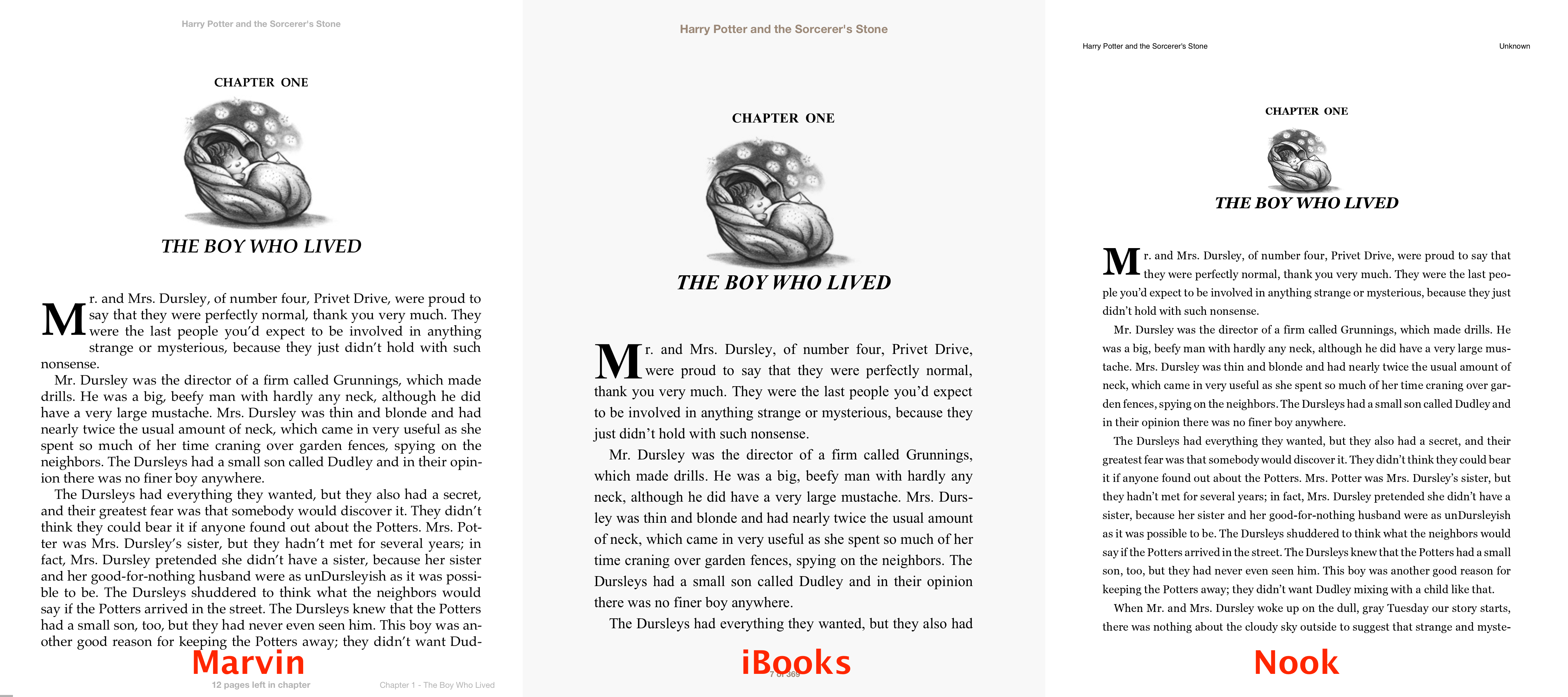Marvin the Intelligent Ebook Reader (Almost) Gets It Right