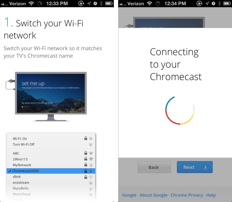 Testing Google's Chromecast for Apple Users