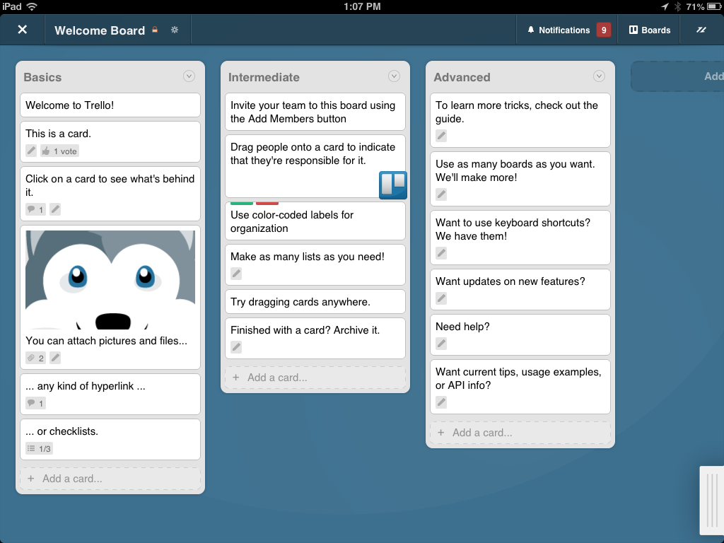 Keyboard Shortcuts — Although Trello works well with a mouse in a Web browser, and in the touch-based iOS, Fog Creek has added a number of keyboard ...