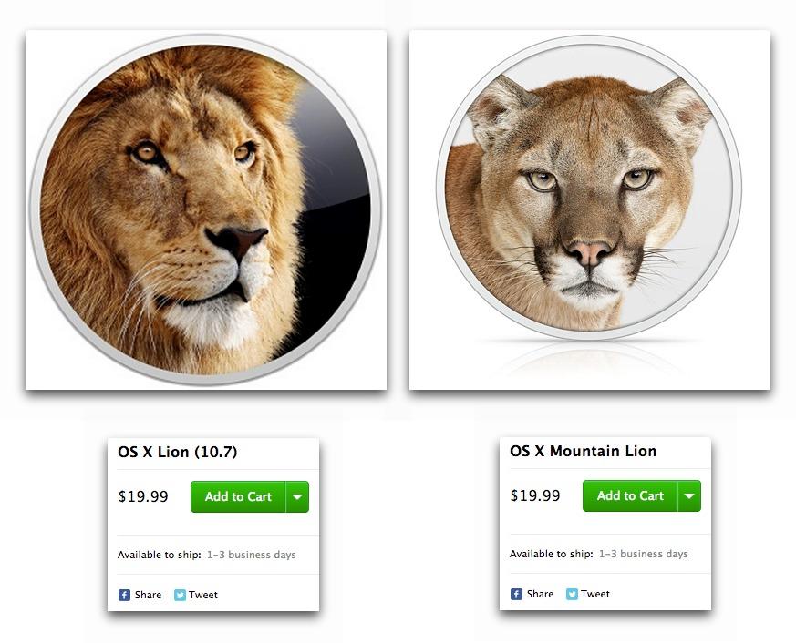 mac os lion vs mountain lion