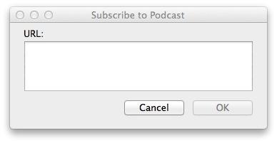 Explaining Podcasts in iTunes 11 1 - TidBITS