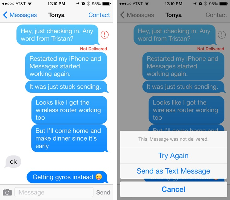 Four Problems with iOS 7: Crashing, Messages, Siri, and