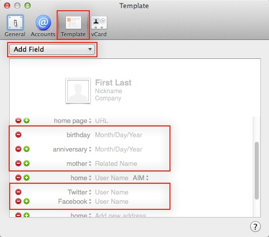 Making the Most of Contacts in Mavericks - TidBITS