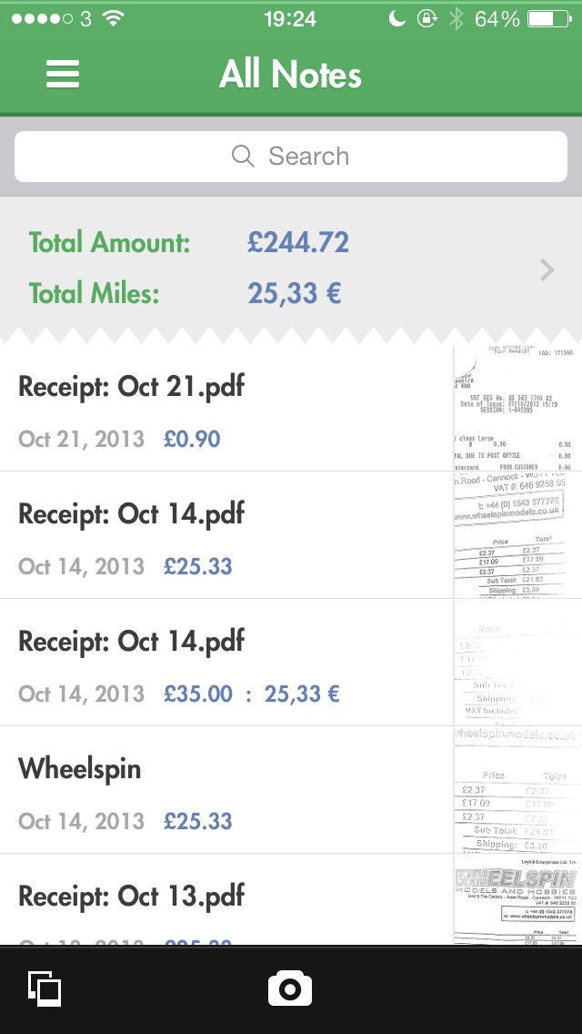 Organize Receipts on Your iPhone with Receiptmate - TidBITS