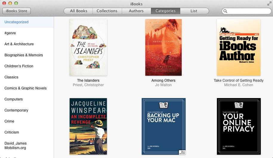 Managing an iBooks Metadata Mess - TidBITS