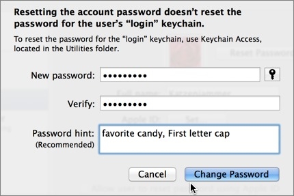 how to find administrator password and username mac