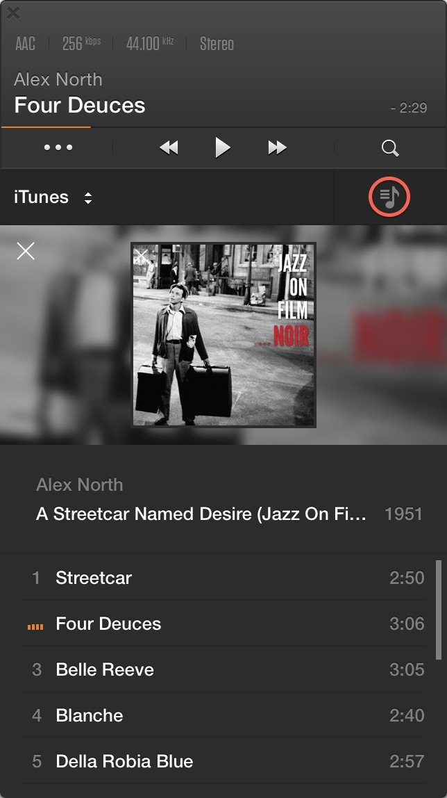 Vox 2 0: A Minimalist Music Player that Needs Work - TidBITS