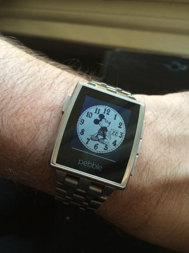 Pebble Smartwatch Puts Notifications on Your Wrist - TidBITS