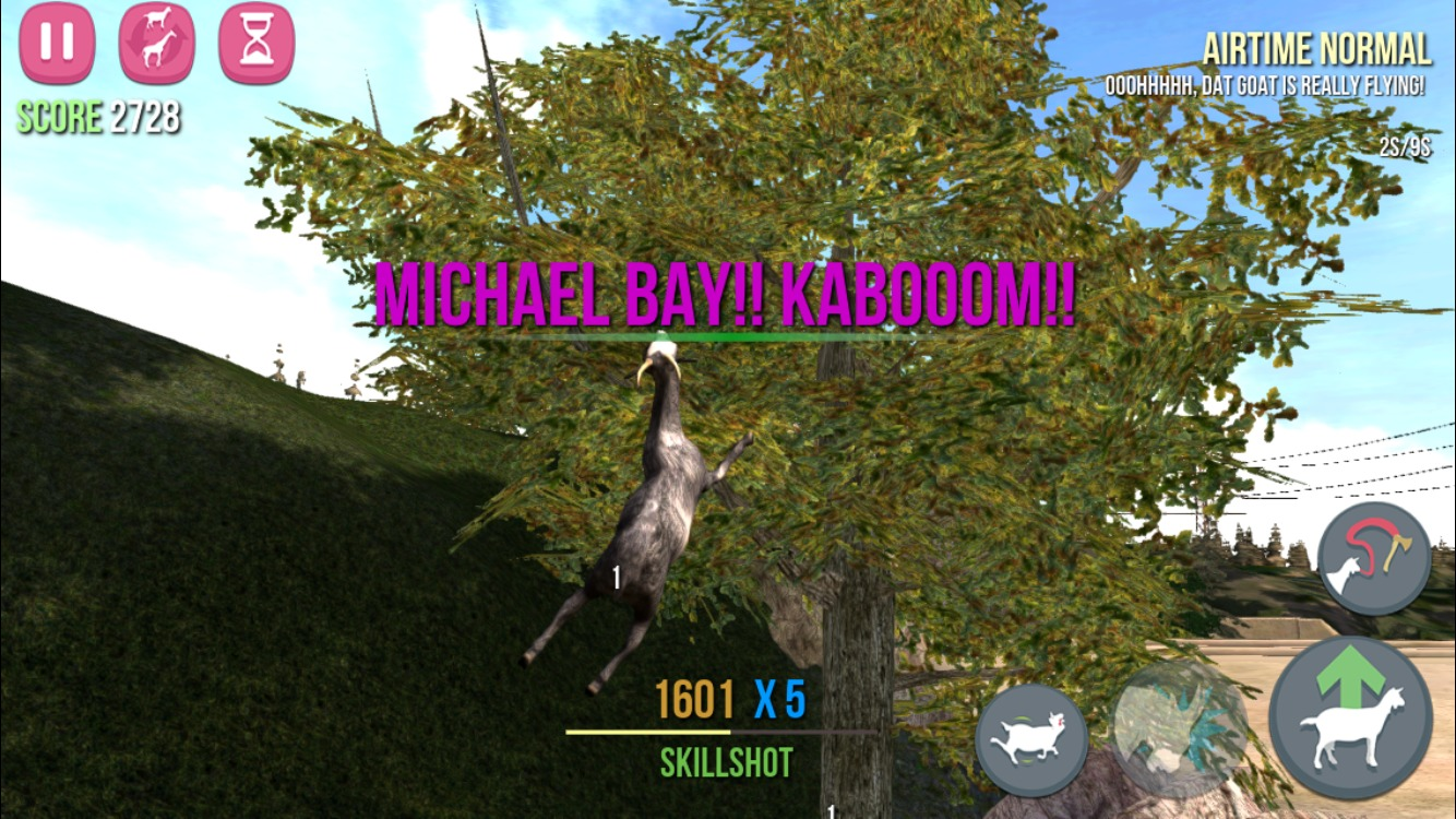 FunBITS: Goat Simulator Keeps Gaming Weird - TidBITS