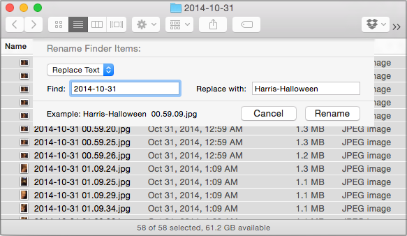 How to Batch Rename Files in OS X 10 10 Yosemite - TidBITS